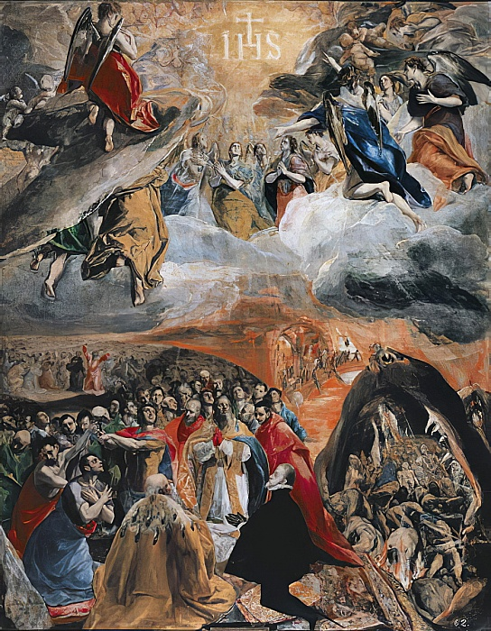 El Greco - The Adoration of the Name of Jesus c1578 - (MeisterDrucke-99240)