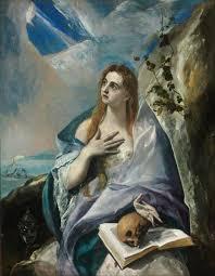 Sainte Marie-Madeleine pénitente, 1576-1577, huile sur toile, 157 x 121 cm, Budapest, Szépművészeti Múzeum